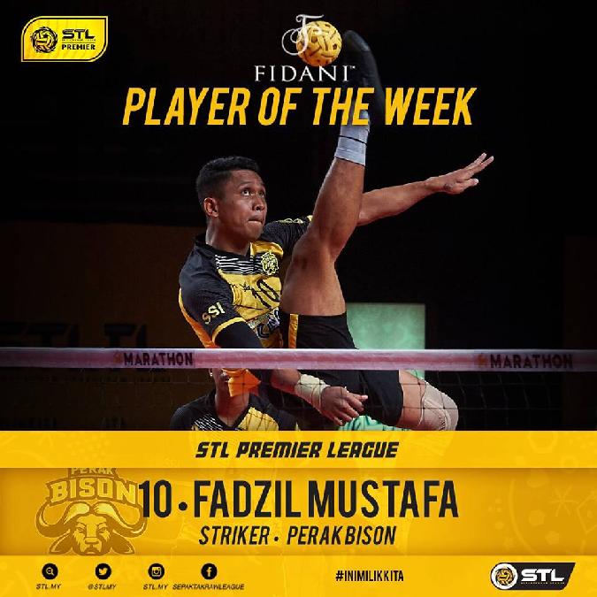 Fadzil Mustaffa, Killer Perak Bisons