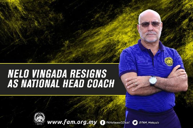 Nelo Vingada resigned