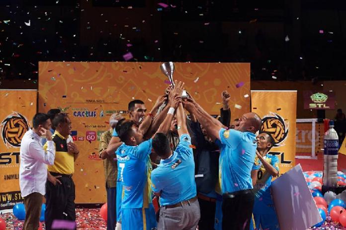 Penang Black Panthers Champions STL CC