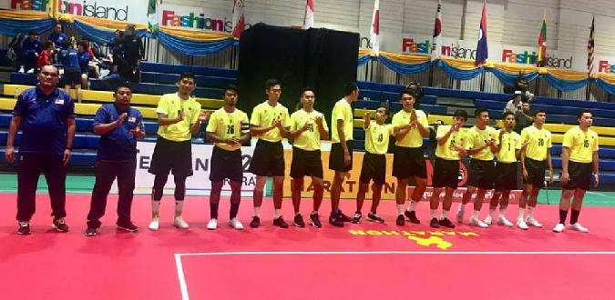 Takraw MAS team lelaki 1
