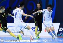 Futsal Malaysia vs Chinese Taipei